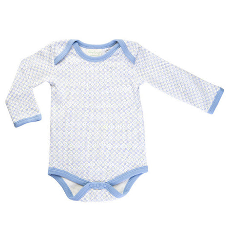 Little Boy Blue long-sleeved bodysuit