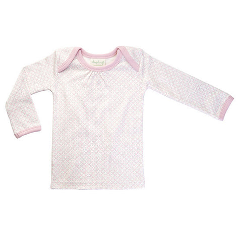 Dusty Pink long-sleeved tee