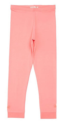 Pink Leggings with bow detail