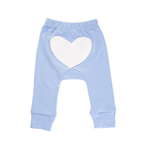 Blue heart pants