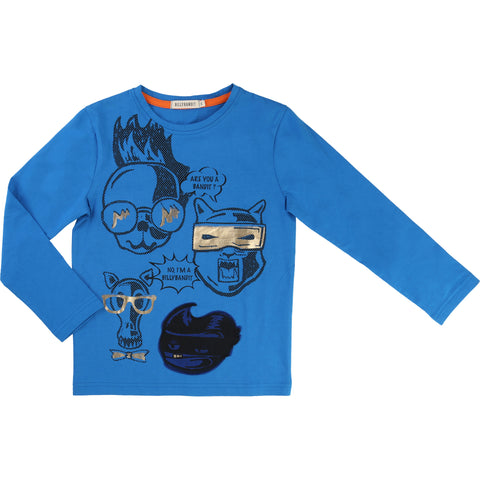 Blue Bandit Long-Sleeved Tee