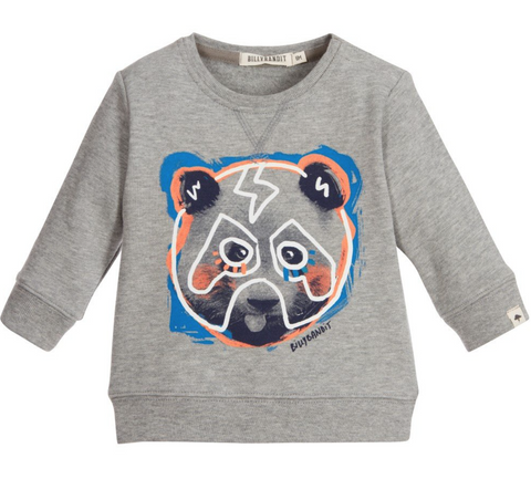 Grey Panda Sweater