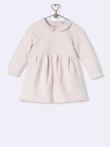 Powder Pink Fleece Dress