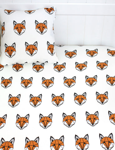 Just Call Me Mr Fox Cotbed Sheet