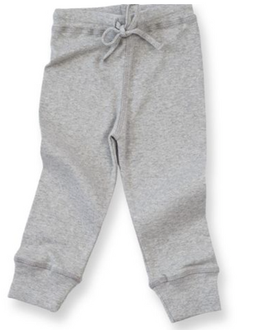 Luna Grey Baby Leggings
