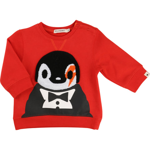 Red Penguin Sweater