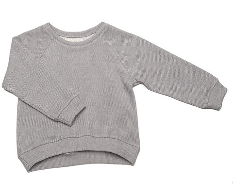 Grey and White Sweatshirt