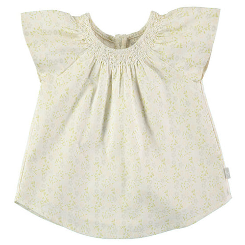 Cotton Summer Ditsy Flower Top