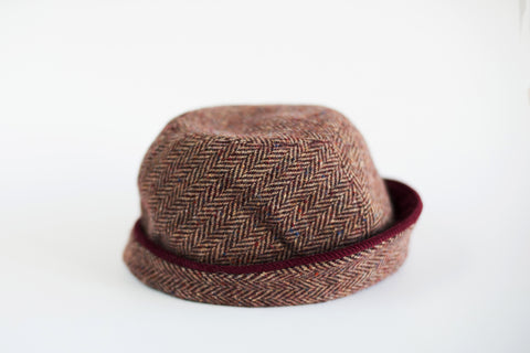Red Tweed Hat