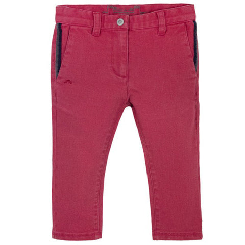 Preppy Red Trousers