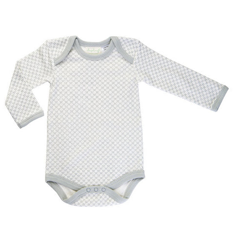 Dove Grey Long-Sleeved Bodysuit