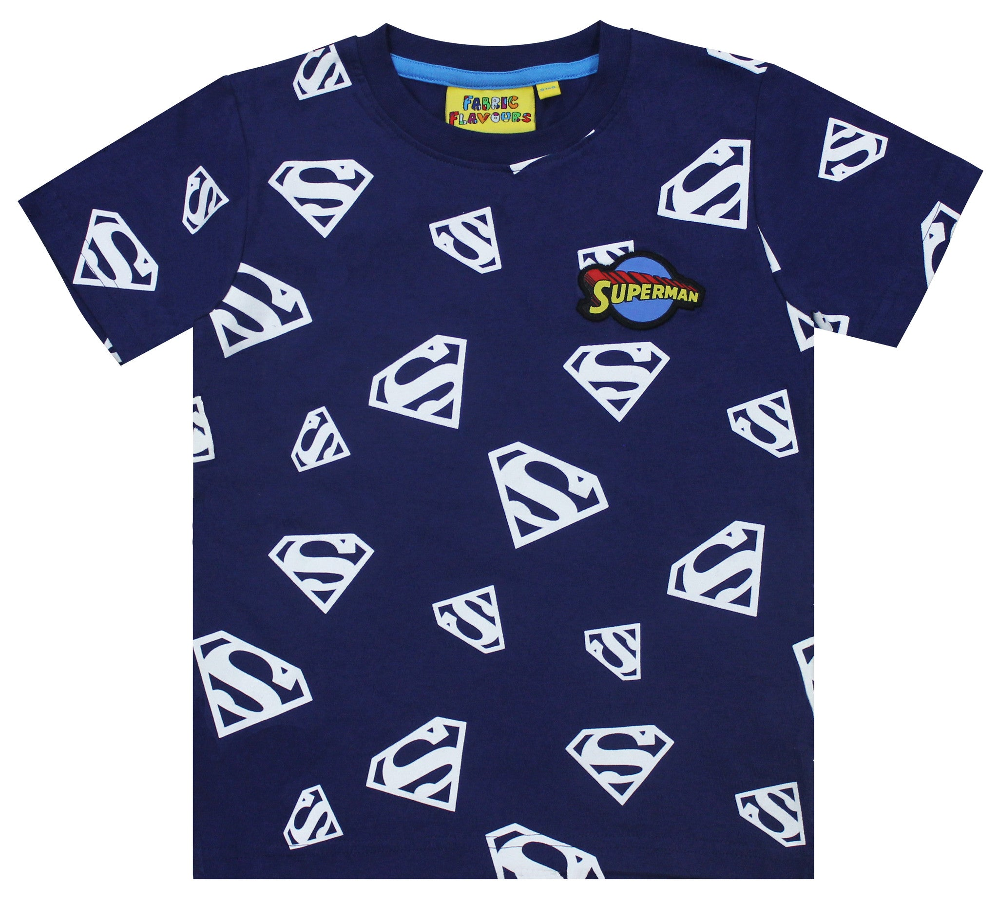 Superman Glow In The Dark Repeat Print Tee