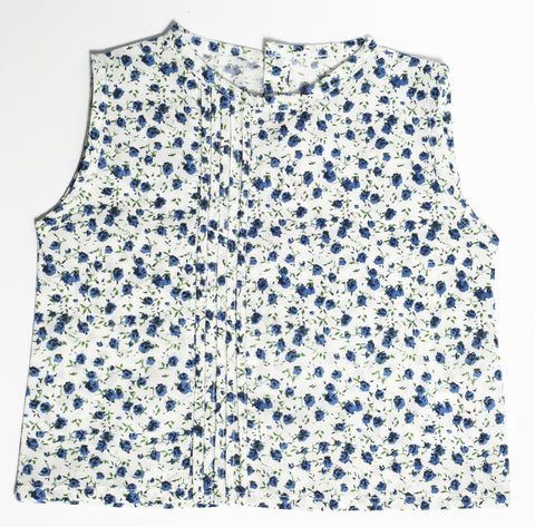 Ditsy Print Top