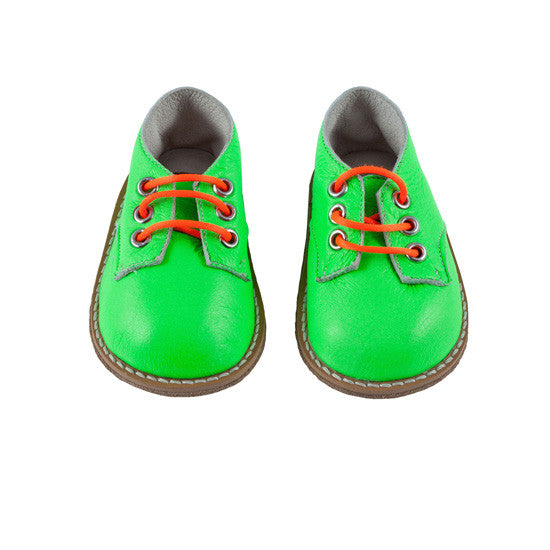 Billy The Kiddy - Neon Green Lace Up