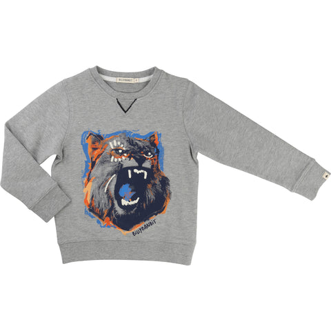 Grey Lion Sweater