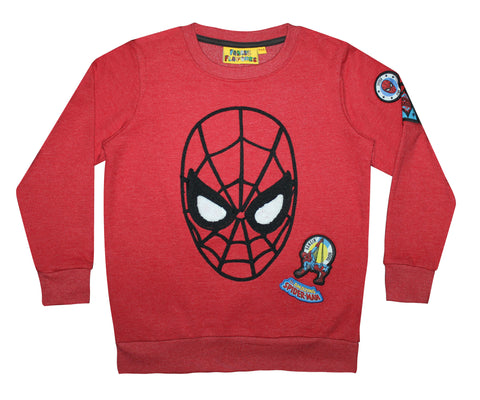 Spiderman Red Sweatshirt