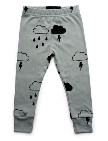Grey Storm Leggings