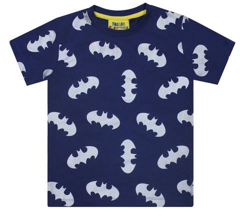 Batman Metallic Repeat Print T-Shirt