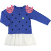 Blue Galaxy Bear Romper