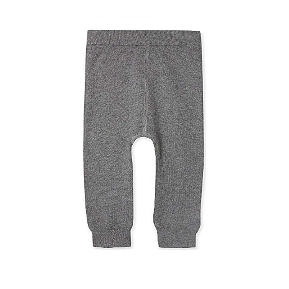 Knitted Cashmere Pants Charcoal