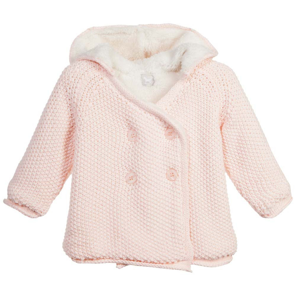 Lined Pixie Jacket Pink