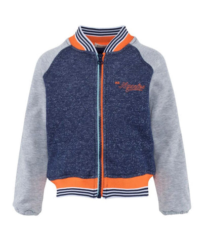 Bomber Jacket with orange trims