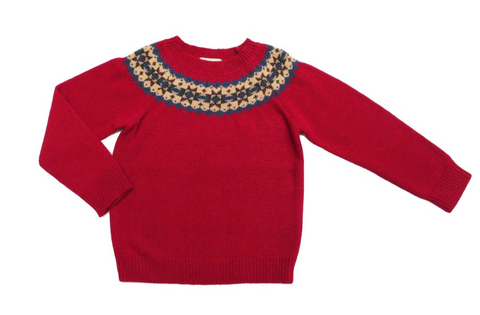 Caspar Jumper Red