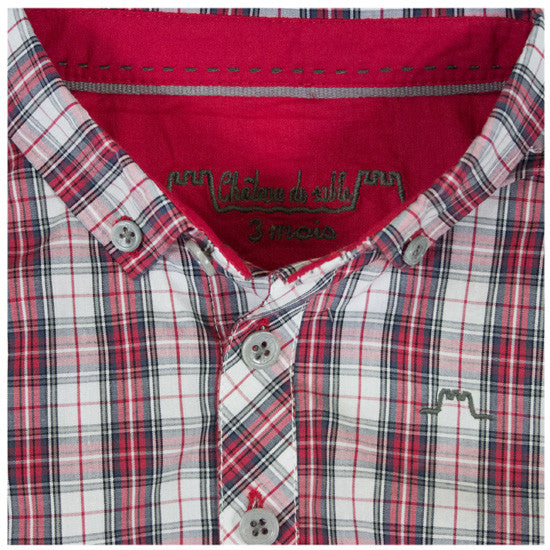 Preppy Check Shirt