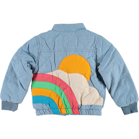SUNRISE Denim Jacket / LIGHT BLUE DENIM