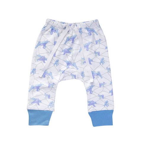 Blue Galaxy Bear Pants