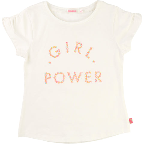 Girl Power White Tee