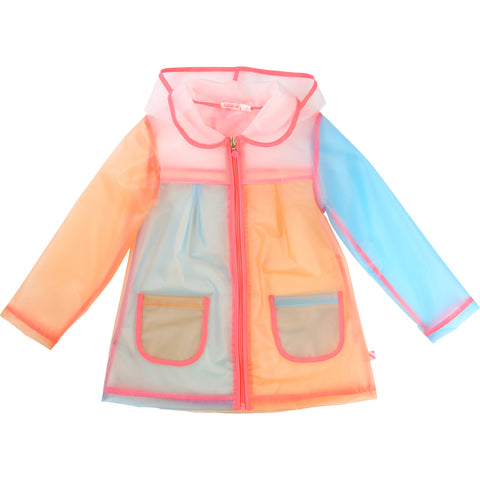Multicolour Rain Jacket