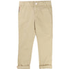 Khaki Trousers With All Over Detail