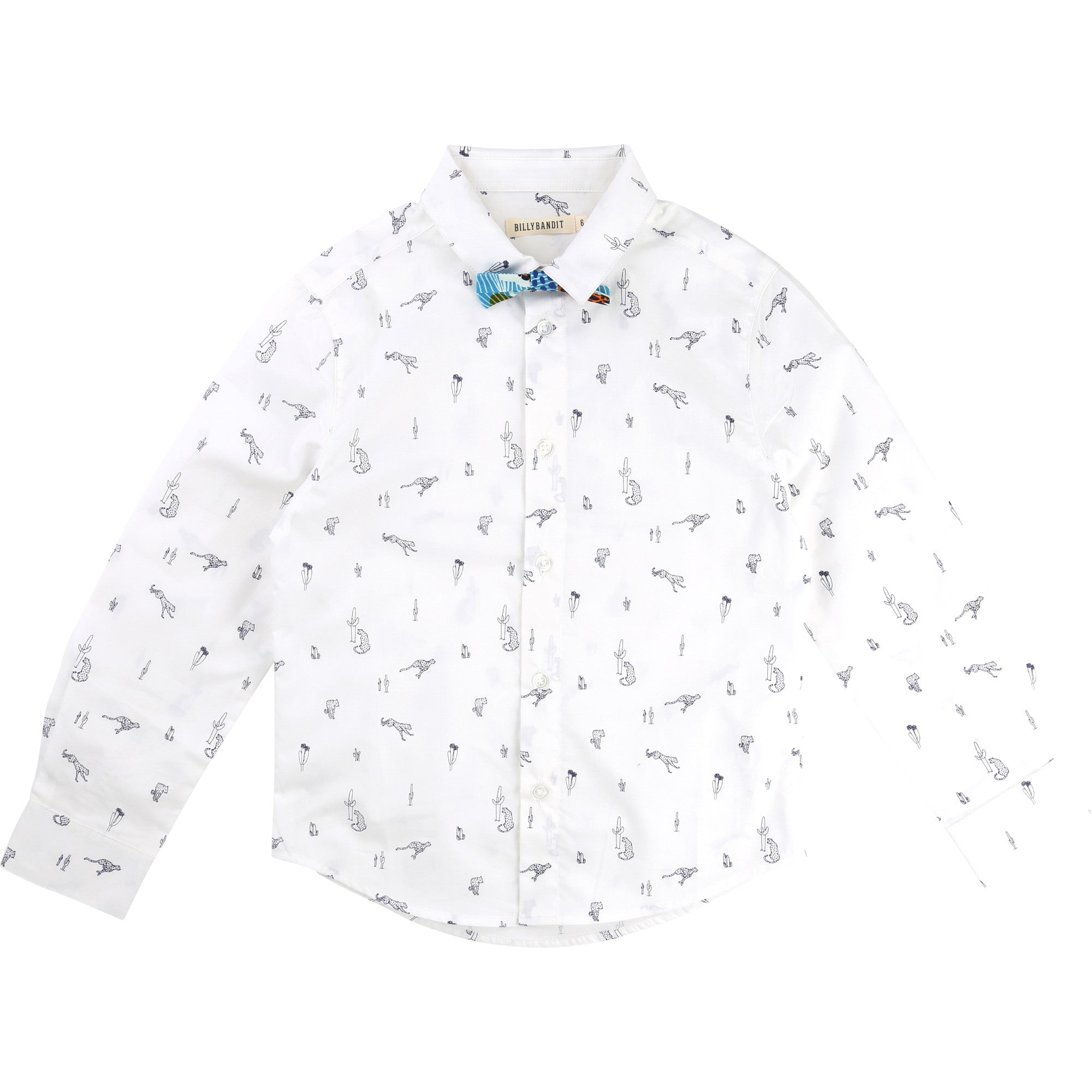 4add10de690c Shirt and Bow Tie With All Over Print – littlegiantedit