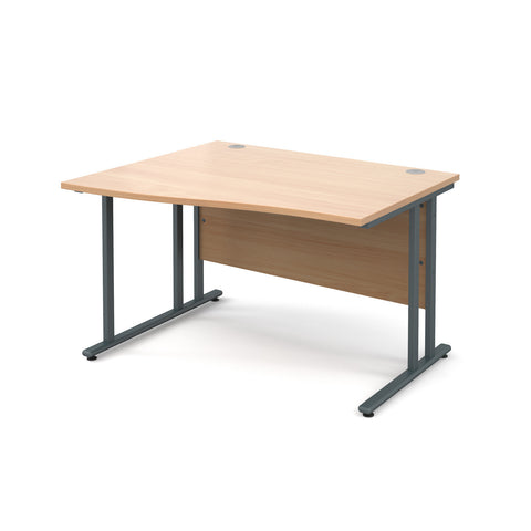 Maestro25 GL Left hand wave desks