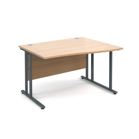 Maestro25 GL Right hand wave desks