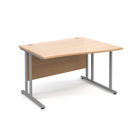 Maestro25 SL Right hand wave desks