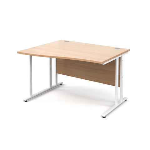 Maestro25 WH Left hand wave desks
