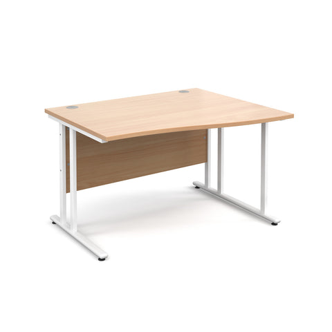 Maestro25 WH Right hand wave desks