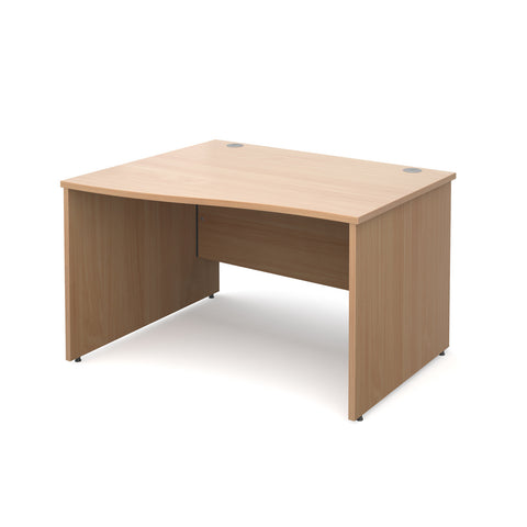 Maestro25 PL - Left hand wave desks