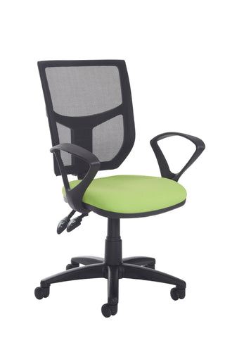 Task & operator seating Altino high back operator chair with fixed arms