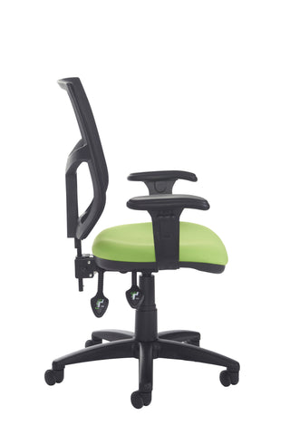 Task & operator seating Altino high back operator chair with adjustable arms