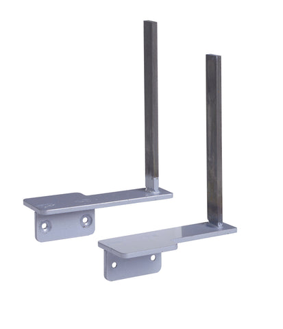 Desktop screens Aluminium framed screen brackets