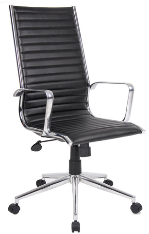 Executive & managers seating Bari leather faced executive chair