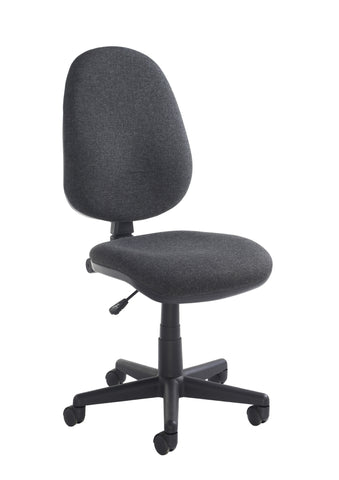 Task & operator seating Bilbao fabric operator chair with no arms