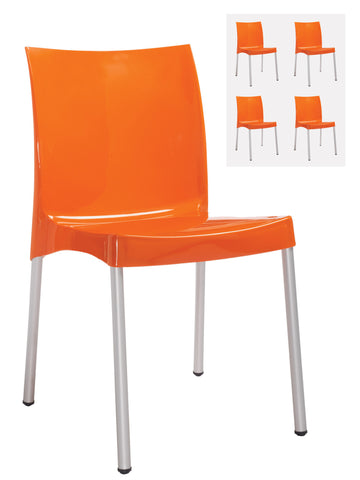 Café chairs Orb box of 4 chairs