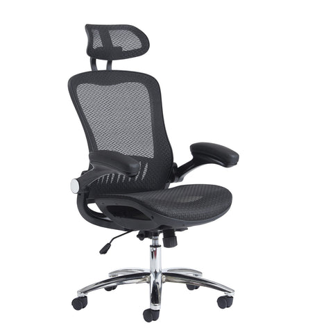 Task & operator seating Curva high back mesh chair