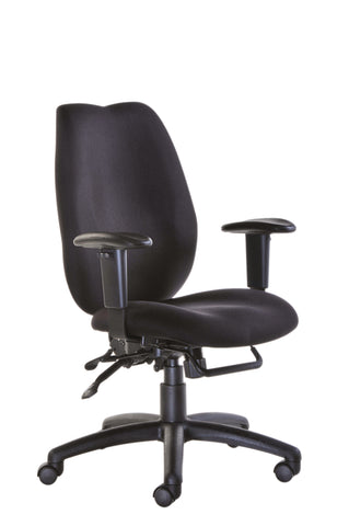 24hr & ergonomic seating  Cornwall multi functional operator chair