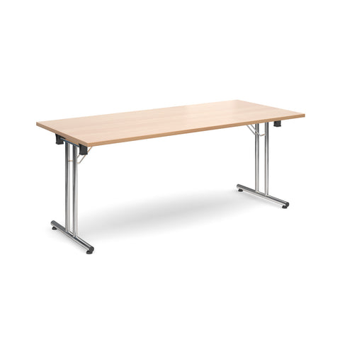 Deluxe folding leg meeting tables Rectangular folding leg tables