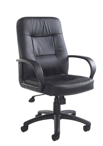 Executive & managers seating Hampshire leather faced managers chair
